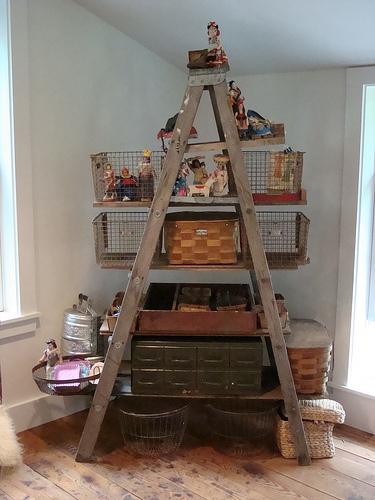repurposed ladders! | Kishani Perera