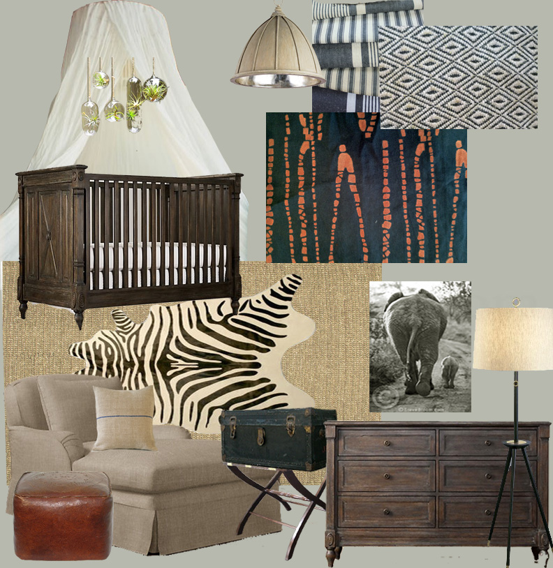 The End Result A Whimsical E That Can Also Transition As Baby S Leather Accents Mosquito Netting Rich Wood Tones And Graphic Block