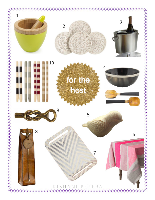 Holiday gift guide for the consummate host for the art for Funky canape trays