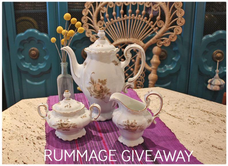 rummage giveaway