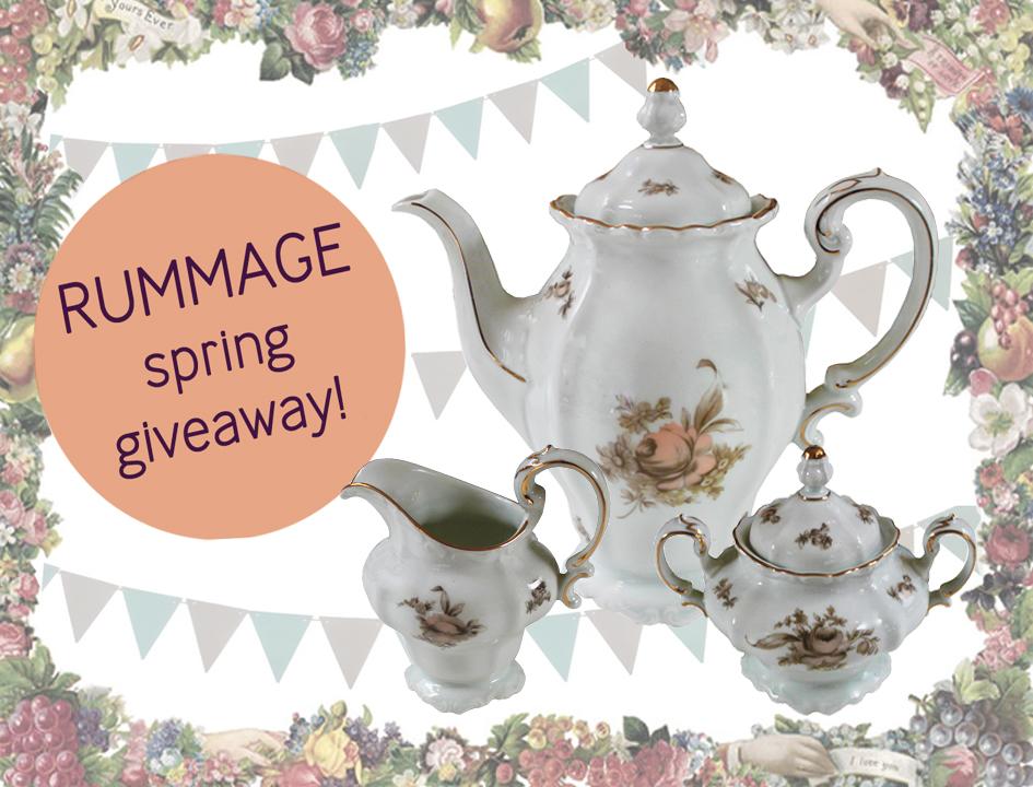 rummage spring giveaway