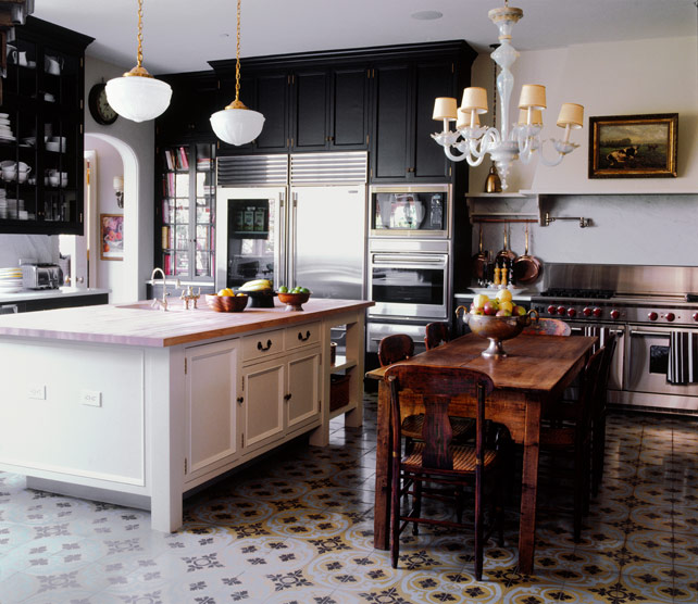 Trade secrets kitchen renovations part one layout and for Cement tiles for kitchen