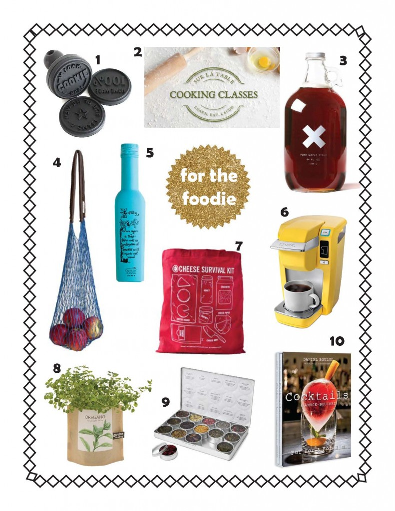 Holiday gift guide for the foodie for the traveler for Christmas gifts for travelers