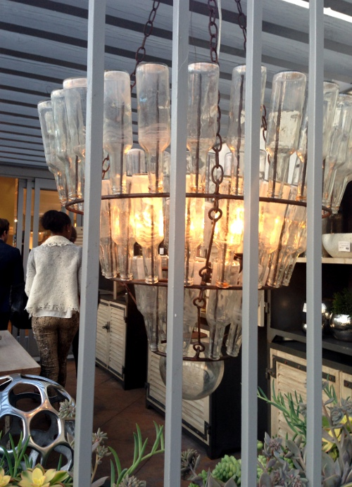 arteriors los angeles showroom lighting via kishani perera inc.