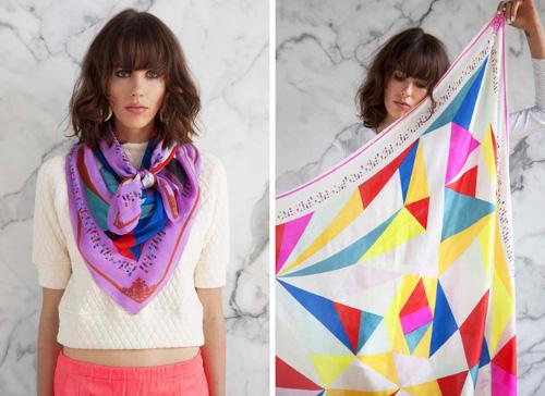 jeffrey gibson scarves at a peace treaty via kishani perera blog