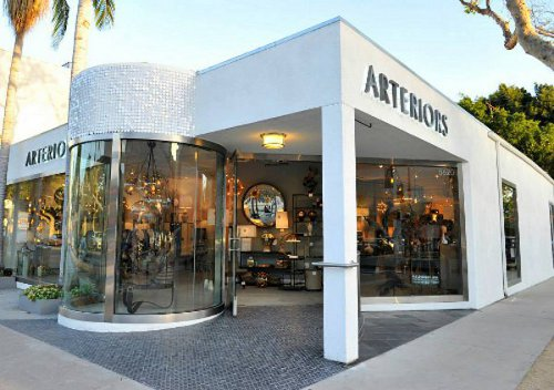 arteriors los angeles showroom via kishani perera blog