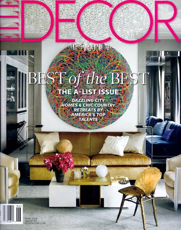 Hot Off The Press Elle Decor