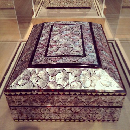 peru or phillipines sewing box via kishani perera inc.