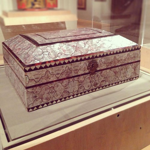 peru or phillipines sewing box via kishani perera inc.