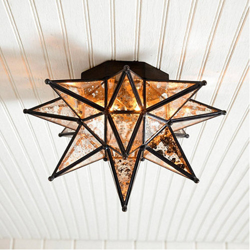 moravian star ceiling mount via kishani perera blog