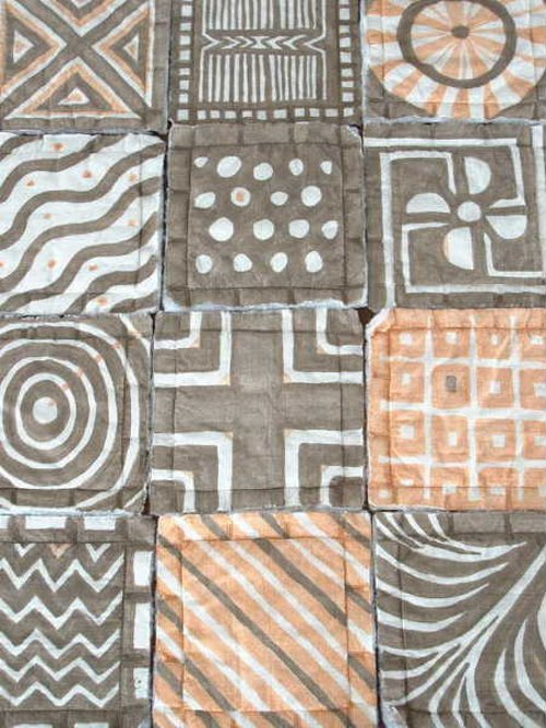 mud cloth quilt via kishani perera blog