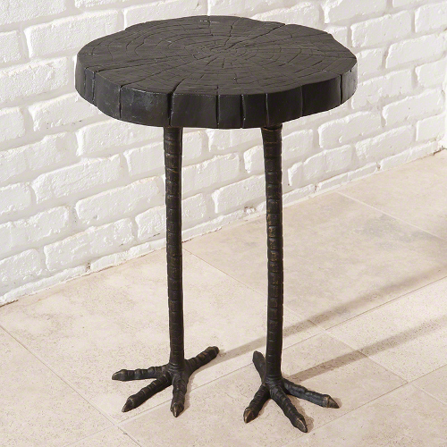 ostrich table via kishani perera blog