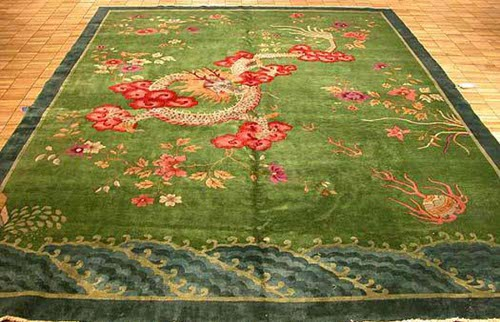art deco rug via kishani perera blog