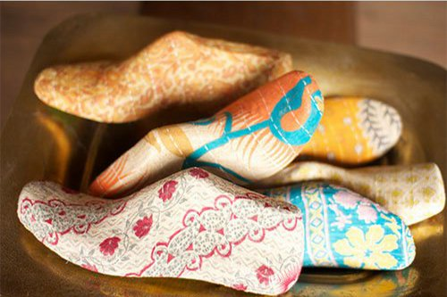 kalaou shoe mold in kantha via kishani perera blog