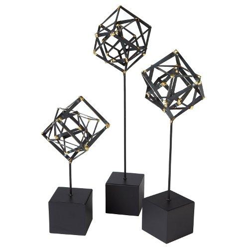 tilted cube sculptures via kishani perera blog