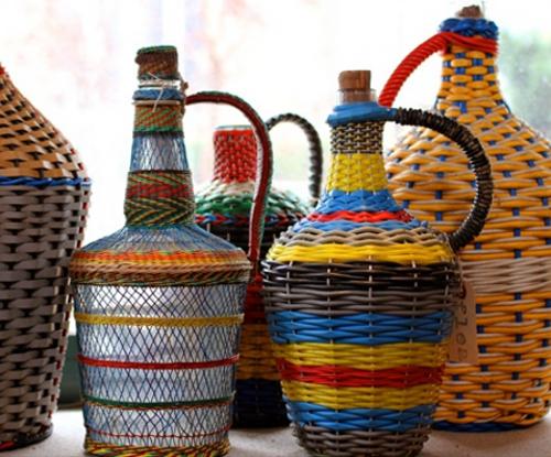 vintage miners' bottles via kishani perera blog