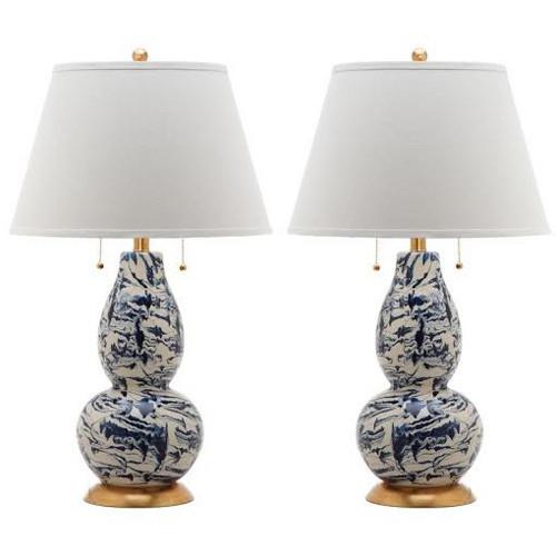 splatter lamp pair via kishani perera blog