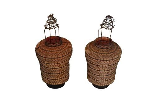vintage chinese lanterns via rummage