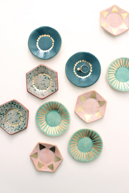 ceramic ring dishes via kishani perera blog