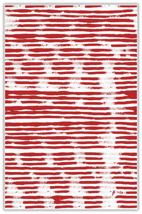 mod stripe table cloth via kishani perera blog