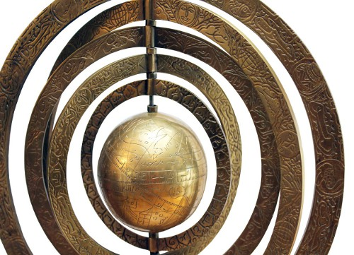 astronomical armillary via rummage