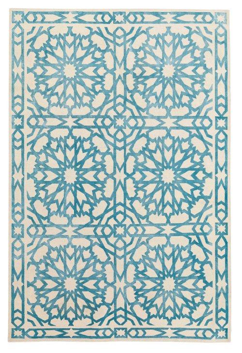 martyn lawrence-bullard's mamounia sky rug via martyn lawrence-bullard's mamounia sky rug via kishani perera blog