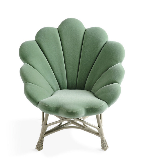 the upholstered venus chair via kishani perera blog