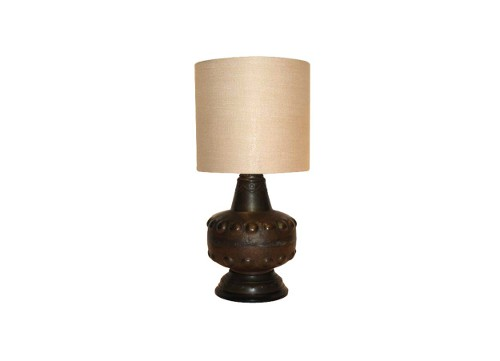 vintage brass table lamp via rummage home