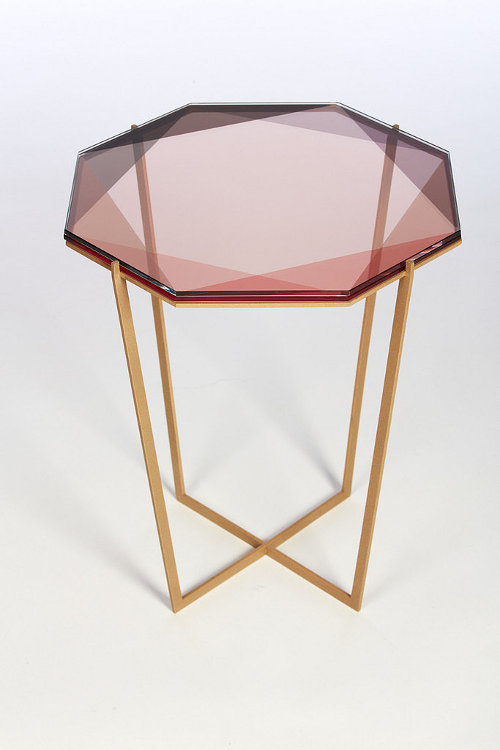 gem stone table via kishani perera blog