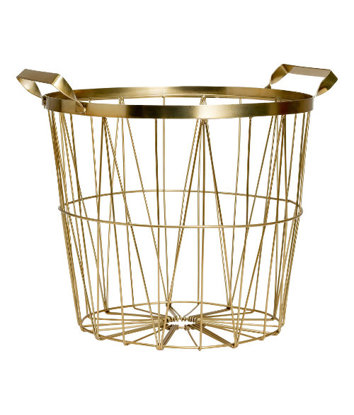 metal basket via kishani perera blog