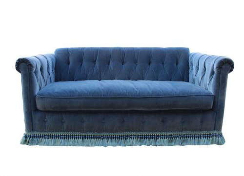 queens road sleeper sofa via rummage