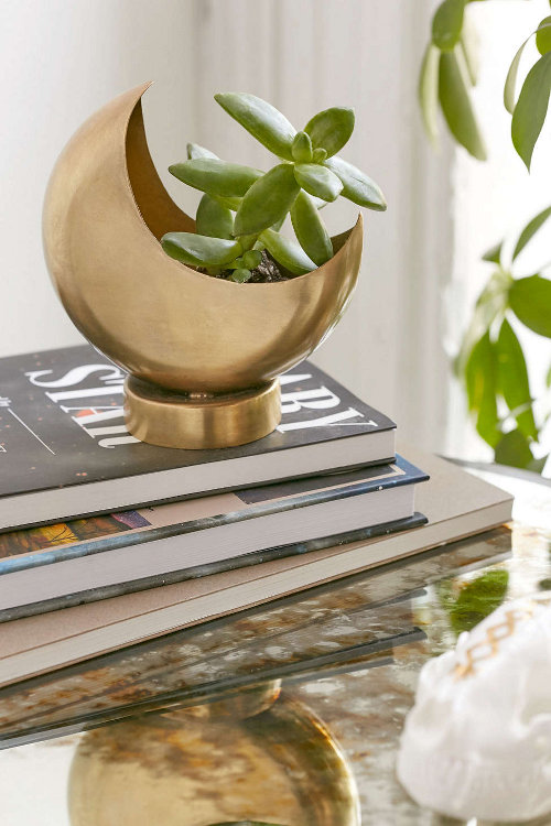half moon planter via kishani perera blog