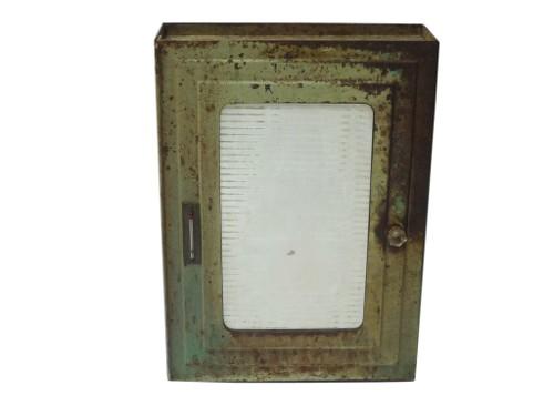 industrial medicine cabinet via rummage