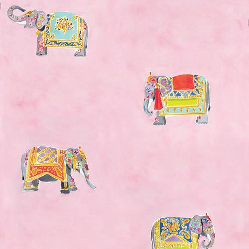 caitlin mcgauley elephants wallpaper via kishani perera blog