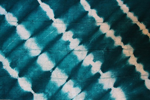 green mud-cloth via rummage
