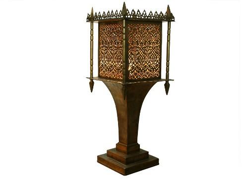 brass moroccan style lantern via rummage