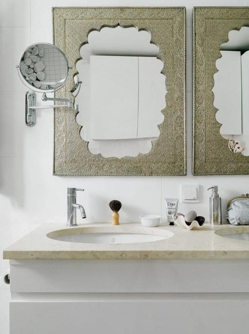 carved framed mirrors via kishani perera blog
