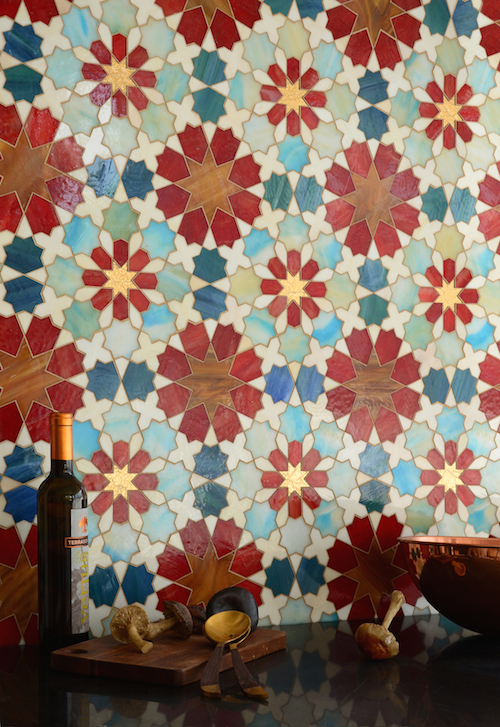 granada grande jewel glass mosaic via kishani perera blog