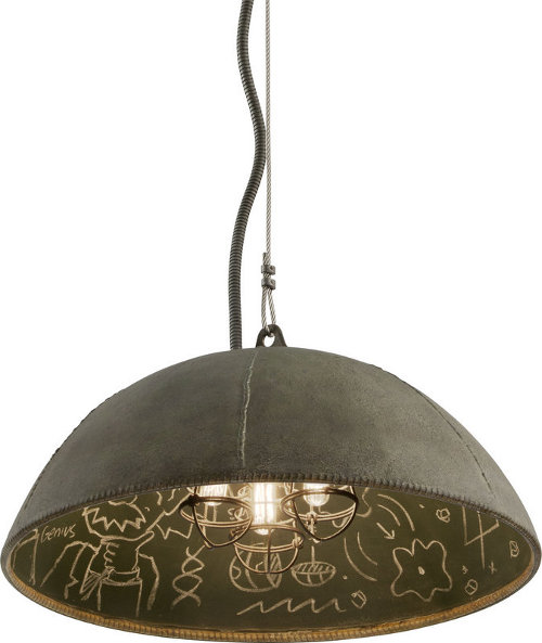relativity 3 light industrial pendant via kishani perera blog