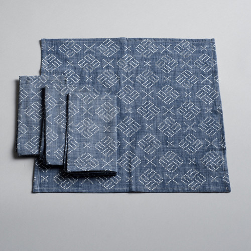 chambray napkin set via kishani perera blog