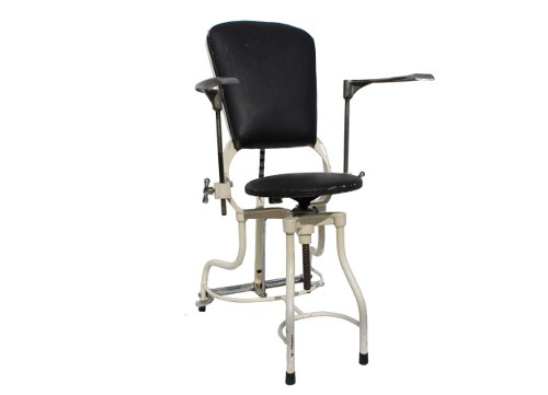 dental chair via rummage