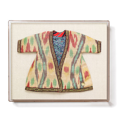 framed infant ikat robe via kishani perera blog