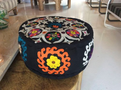 indian pouf via kishani perera blog