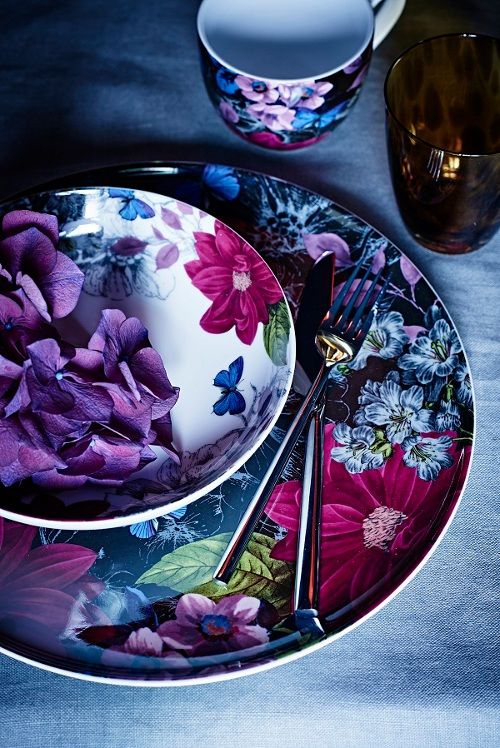 midnight bloom platter via kishani perera blog