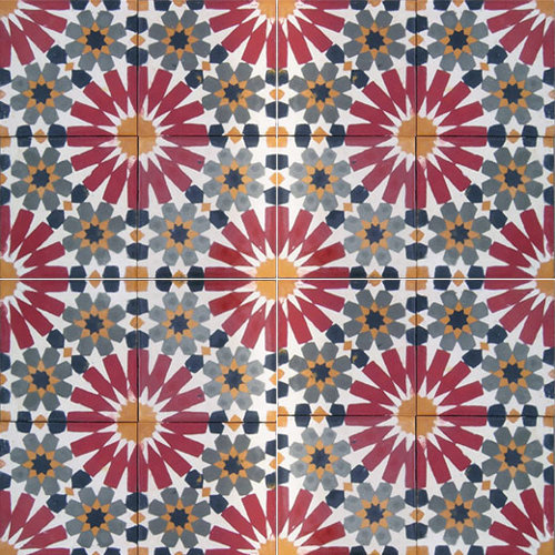 moroccan encaustic tile via kishani perera blog