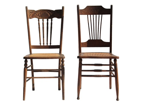 victorian era dining chairs via rummage