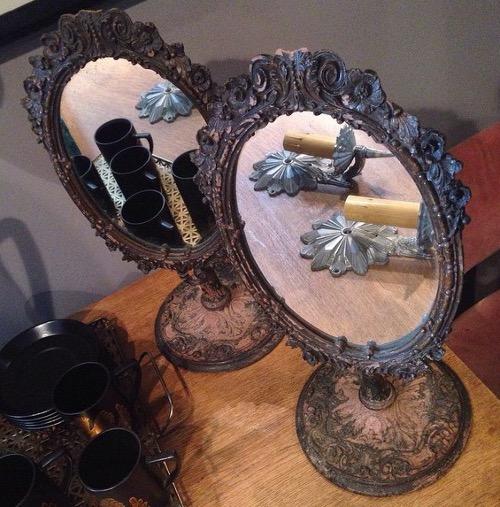 victorian mirrors via rummage