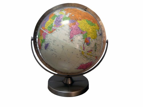 vintage replogle globe via kishani perera blog