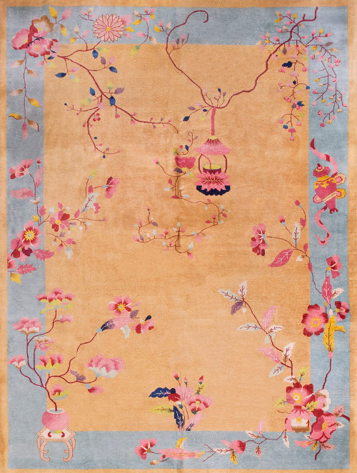 chinese art deco rug via kishani perera blog