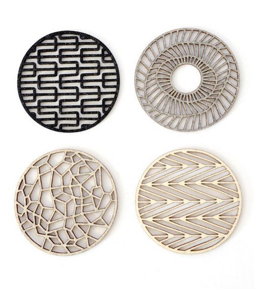 geometric coasters via kishani perera blog